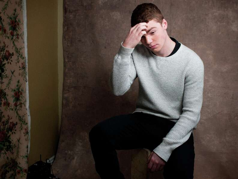 Gabriel Basso from the film Toy House poses for a portrait during the 2013 Sundance Film Festival at