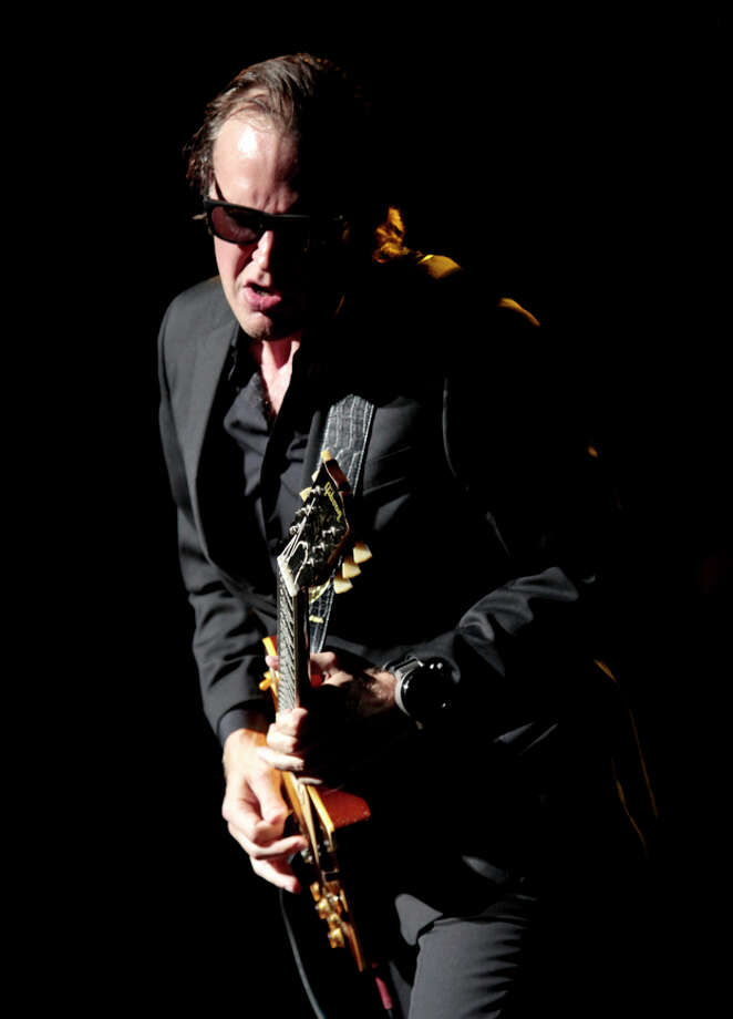 Guitar-slinger Joe Bonamassa, a Utica-area native, will appear Sunday evening on WMHT. Photo: Guitar Center / Guitar Center