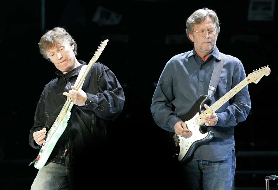 Eric Clapton will perform March 16 at Toyota Center. Photo: RICHARD DREW, STF / AP
