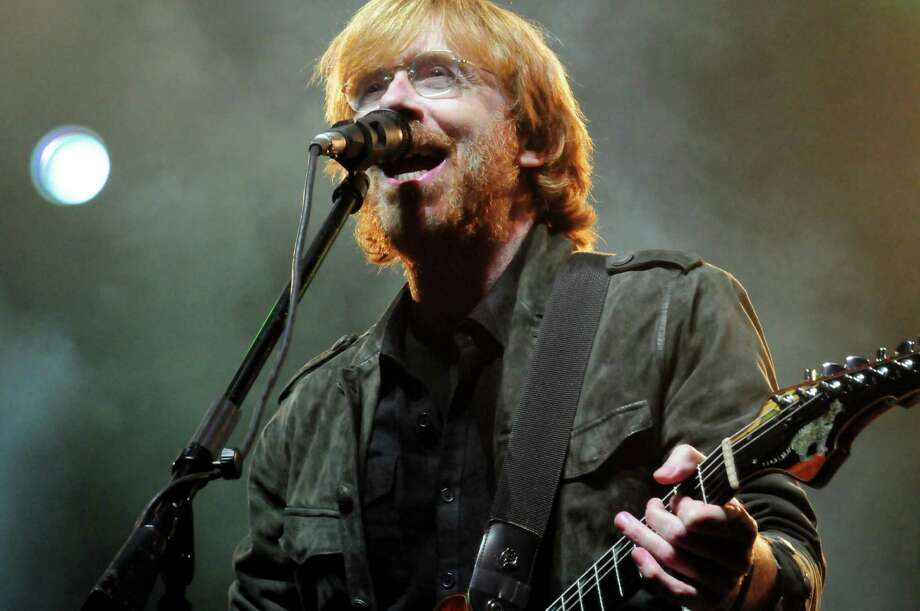 Phish front man Trey Anastasio (AP Photo/Alison Redlich) Photo: Alison Redlich / FR91835 AP