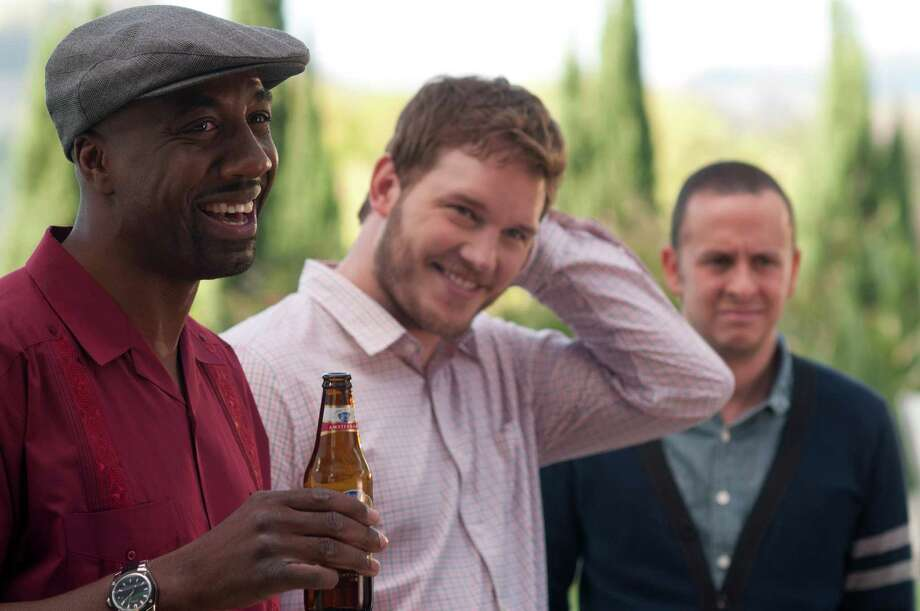 M-45 (Left to right.) J.B. Smoove and Chris Pratt star in Relativity Mediaís  MOVIE 43. 2011 Movie Productions, LLC All Rights Reserved. Photo: K.C. Bailey, Photographer / © 2011 Movie Productions, LLC  All Rights Reserved.