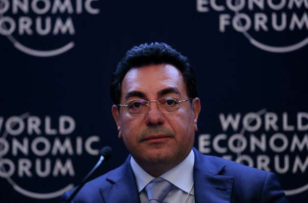 Samir Brikho, chief executive officer of Amec Plc, pauses during a forum session on the opening day of the World Economic Forum (WEF) in Davos, Switzerland, on Wednesday, Jan. 23, 2013. World leaders, Influential executives, bankers and policy makers attend the 43rd annual meeting of the World Economic Forum in Davos, the five day event runs from Jan. 23-27. Photographer: Chris Ratcliffe/Bloomberg *** Local Caption *** Samir Brikho Photo: Chris Ratcliffe, Bloomberg / Copyright 2013 Bloomberg Finance LP, All Rights Reserved.