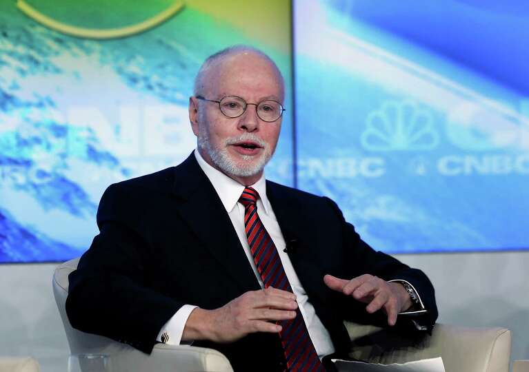 Paul Singer, founder and president of Elliott Management Corp., speaks during a forum session on the