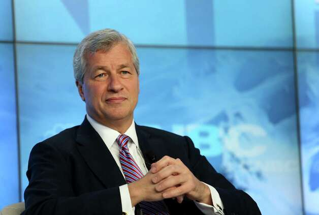 "James ""Jamie"" Dimon, chief executive officer of JPMorgan Chase & Co., listens during a panel discussion on the opening day of the World Economic Forum (WEF) in Davos, Switzerland, on Wednesday, Jan. 23, 2013. World leaders, Influential executives, bankers and policy makers attend the 43rd annual meeting of the World Economic Forum in Davos, the five day event runs from Jan. 23-27. Photographer: Chris Ratcliffe/Bloomberg *** Local Caption *** Jamie Dimon Photo: Chris Ratcliffe, Bloomberg / Copyright 2013 Bloomberg Finance LP, All Rights Reserved."