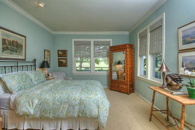 There are 12 rooms in the Petaluma home. Photo: Matt McCourtney, McCourtney Photographics