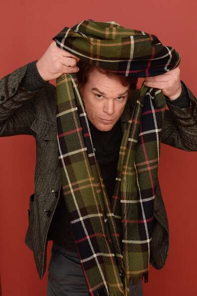 Actor Michael C. Hall from the film Kill Your Darlings poses for a portrait during the 2013 Sundance