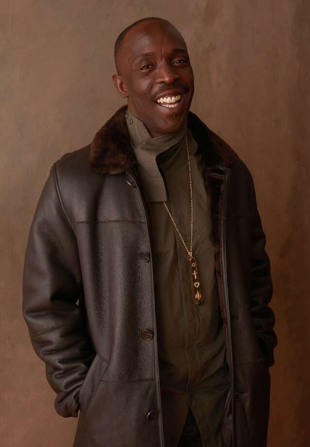 Actor Michael Kenneth Williams from They Die by Dawn poses for a portrait during the 2013 Sundance Film Festival at the Getty Images Portrait Studio at Village at the Lift on January 20, 2013 in Park City, Utah. Photo: Larry Busacca, Getty Images / 2013 Getty Images