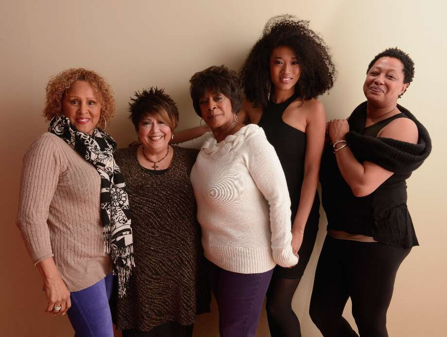 (L-R) Singers Darlene Love, Tata Vega, Merry Clayton, Judith Hill and Lisa Fischer from the film Twenty Feet From Stardom pose for a portrait during the 2013 Sundance Film Festival at the Getty Images Portrait Studio at Village at the Lift on January 21, 2013 in Park City, Utah. Photo: Larry Busacca, Getty Images / 2013 Getty Images