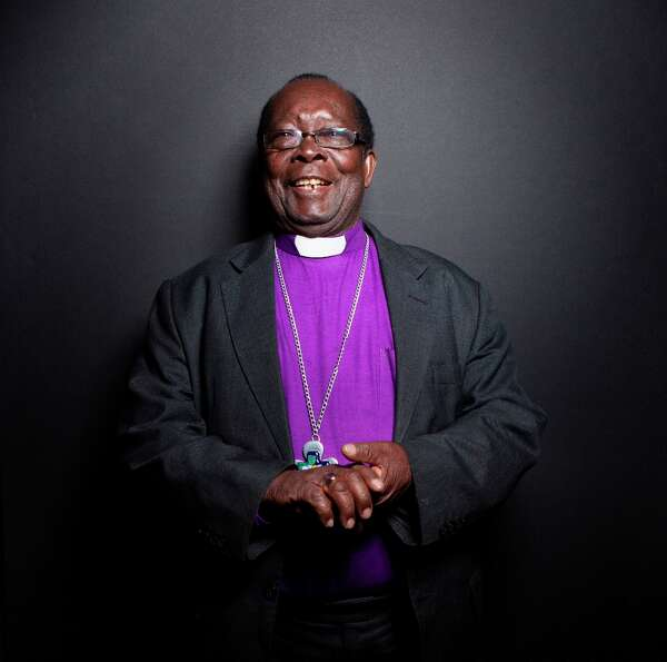 Bishop Christopher Senyonjo from the film God Loves Uganda poses for a portrait during the 2013 Sund