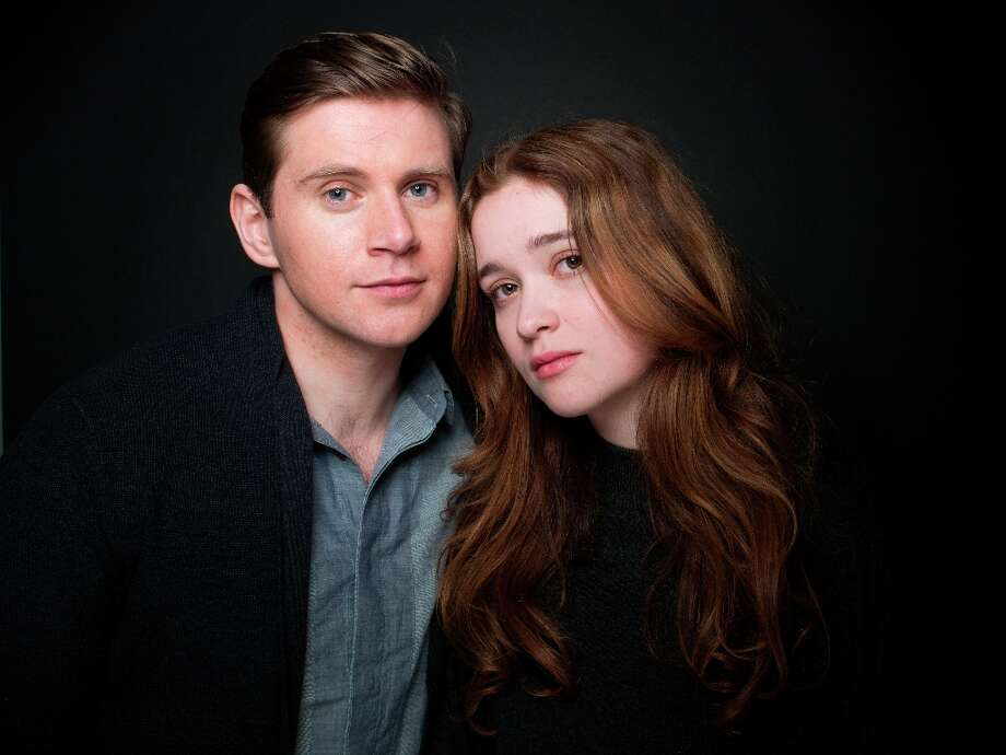 Actors Allen Leech, left, and Alice Englert from the film In Fear pose for a portrait during the 2013 Sundance Film Festival on Sunday, Jan. 20, 2013 in Park City, Utah. (Photo by Victoria Will/Invision/AP Images) Photo: Victoria Will, Associated Press / Invision