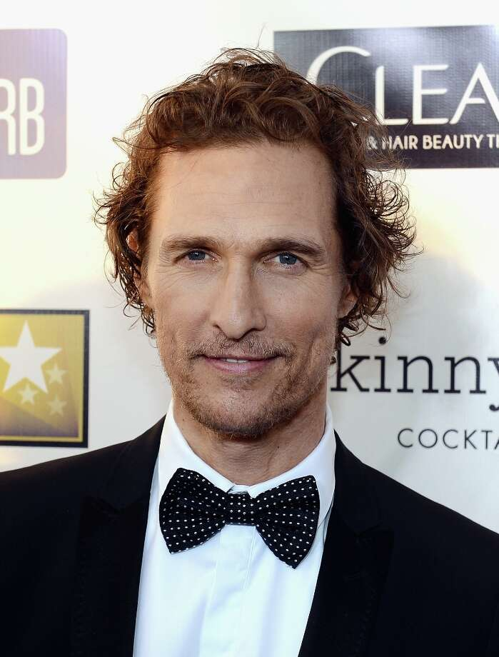 Matthew McConaughey in 2013, at the Critics' Choice Movie Awards in Santa Monica. Photo: Larry Busacca, Getty Images For BFCA / 2013 Getty Images