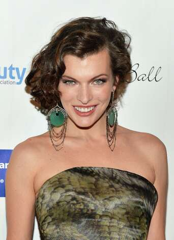 Milla Jovovich in 2012, at the DreamBall Gala. Photo: Slaven Vlasic, Getty Images / 2012 Slaven Vlasic