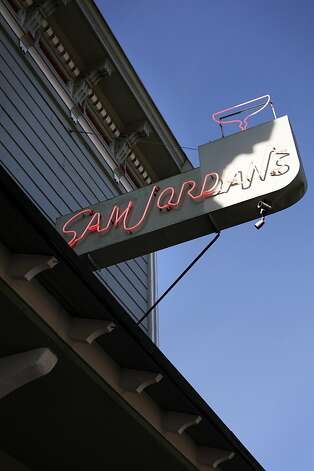 Sam Jordan's Bar is shown in San Francisco, Calif., Monday, January 21, 2013.  The bar recently obtained landmark status. Photo: Sarah Rice, Special To The Chronicle