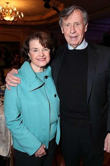 US Senator Dianne Feinstein (CA) and husband Richard Blum ...