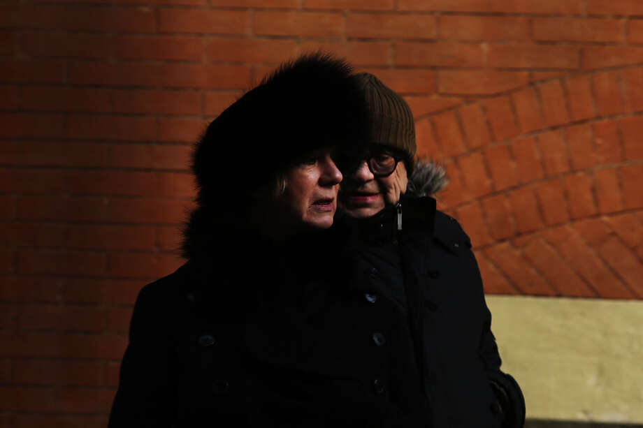 NEW YORK, NY - JANUARY 23: A couple walk down a street on one of the coldest days of the year on January 23, 2013 in New York City. Much of the Northeast, will be experiencing colder than usual temperatures for the remainder of the week with temperatures in the 20's and a wind chill feeling in the single digits. Photo: Spencer Platt, Getty Images / 2013 Getty Images