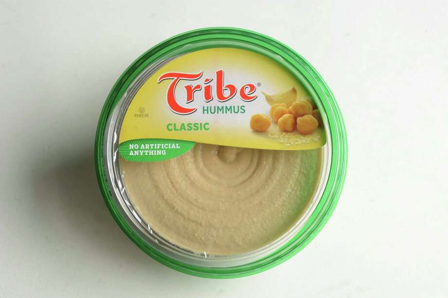 Tribe hummus on Wednesday, Jan. 16, 2013, at Times Union in Colonie, N.Y. (Cindy Schultz / Times Union) Photo: Cindy Schultz / 00020767A