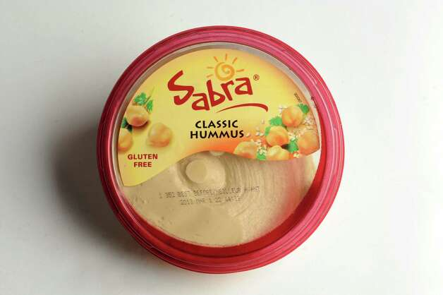 Sabra hummus on Wednesday, Jan. 16, 2013, at Times Union in Colonie, N.Y. (Cindy Schultz / Times Union) Photo: Cindy Schultz / 00020767A
