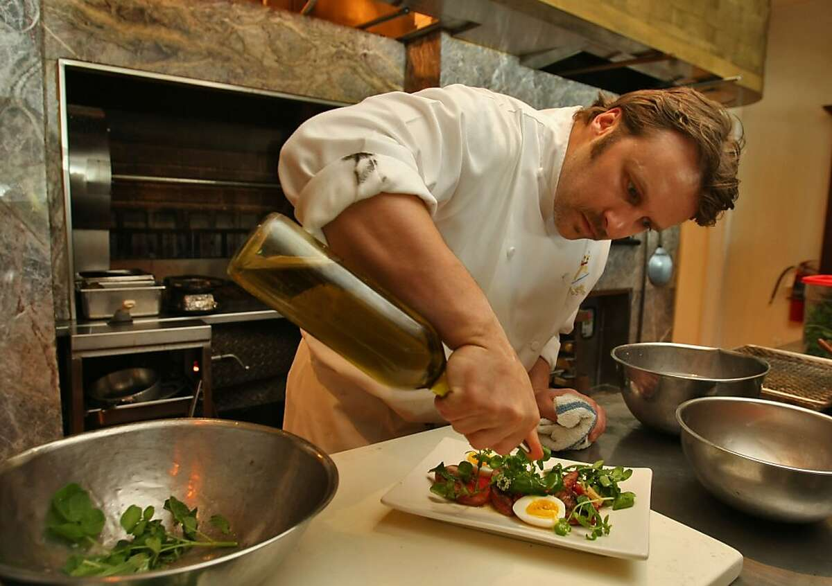 Poggio executive chef Peter McNee is leaving after seven years at the helm of the Sausalito restaurant.