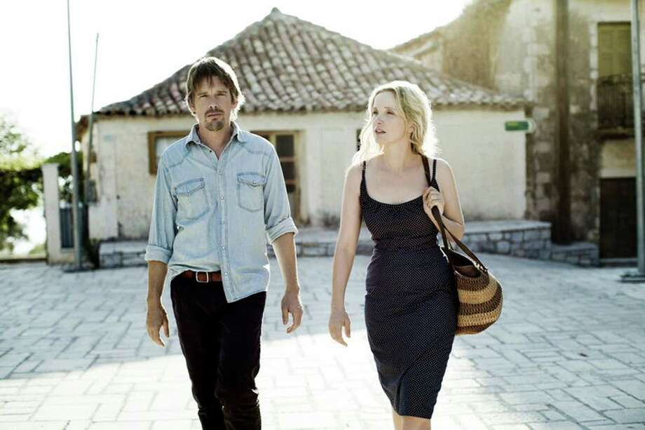 "Description: The third in a series, ""Before Midnight"" continues a love story between two strangers, Celine and Jesse, who met on a train headed for Vienna. It's now nine years after their last rendezvous, and they are in their early forties in Greece. Texas link: The film's director, Richard Linklater, was born in Houston and attended Huntsville High School and Bellaire High School. He studied at Sam Houston State University and Alvin Community College. He also founded the Austin Film Society in 1985, to showcase films from around the world that would not normally be shown in Austin. Category: PremieresDirector: Richard LinklaterPrincipal cast: Ethan Hawke, Julie Delphy, Xenia Kalogeropoulou, Ariane Labed, Athina Rachel Tsangari, Seamus Davey-Fitzpatrick