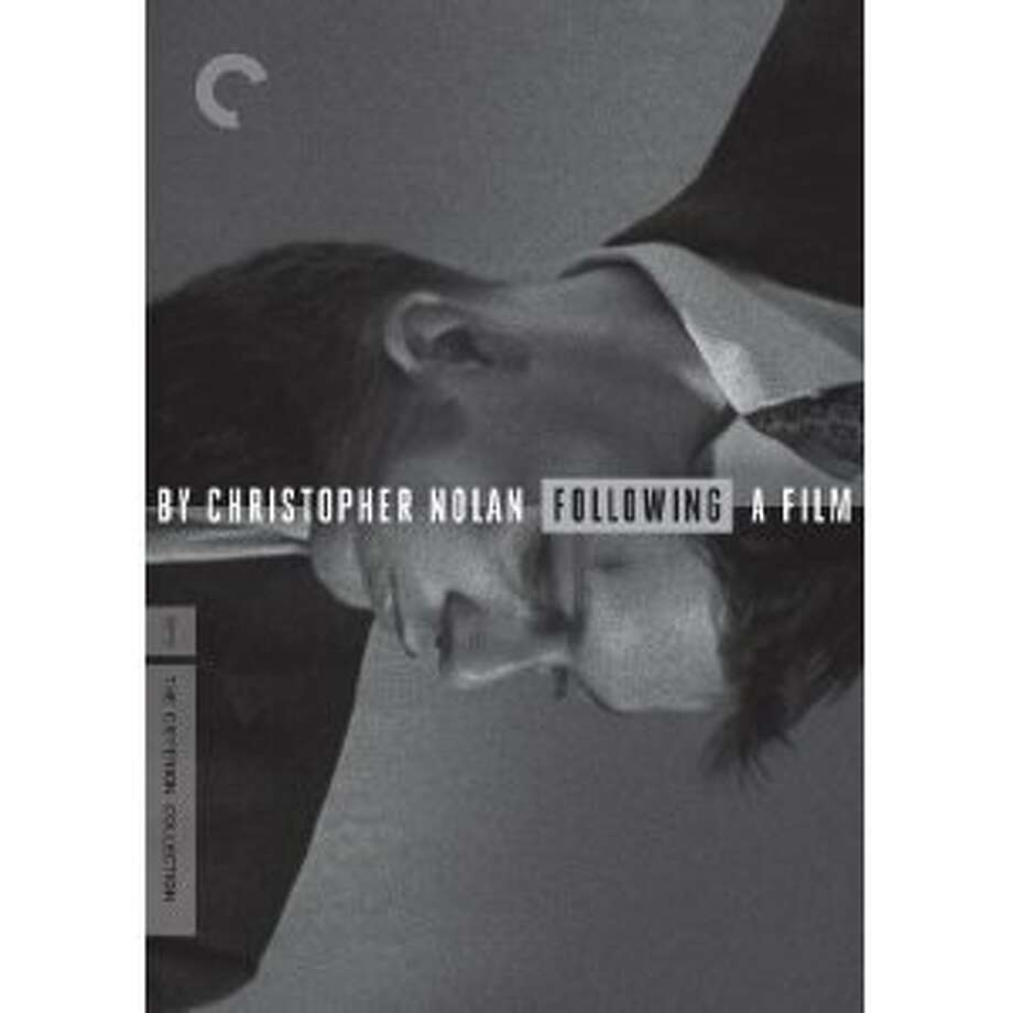 "dvd cover ""Following"" Photo: Criterion Collection, Amazon.com"