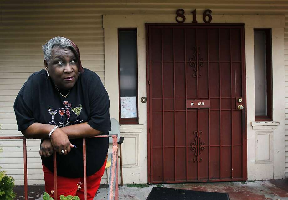 Peggy Hart says she has been struggling to keep her home in Oakland. Photo: Paul Chinn, The Chronicle