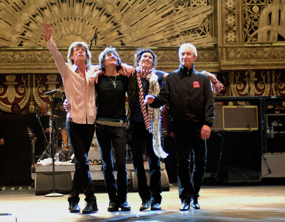 The Rolling Stones concert film, ìShine A Light,î returns to the six-story IMAX screen of The Maritime Aquarium at Norwalk for one special show on Sat., Jan. 26. Photo: Kevin Mazur