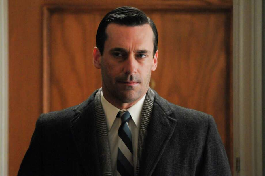 "This undated image released by AMC shows Jon Hamm as Don Draper in a scene from Season 5 of ""Mad Men.""  AMC announced Wednesday, Jan. 23, 2013, that a two-hour premiere will kick off the acclaimed drama series' sixth season on April 7.  (AP Photo/AMC, Michael Yarish) Photo: Michael Yarish"