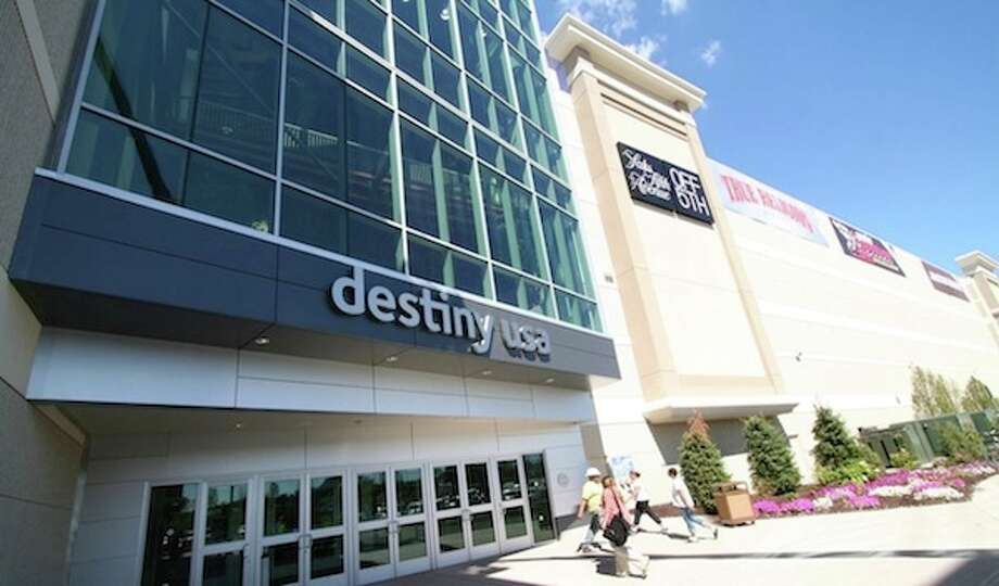 7. New York: 214 projects, totaling 34.4 million square feet, certified in 2012, equating to 1.77 square feet per person. This is Destiny USA in Syracuse, certified LEED Gold. Photo: Destiny USA