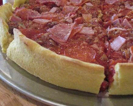 Kennedy's Chicago PizzaLocations: 16101 San Pedro Ave., 8802 Potranco Rd.Website: kennedyschicago.com Photo: San Antonio Express-News