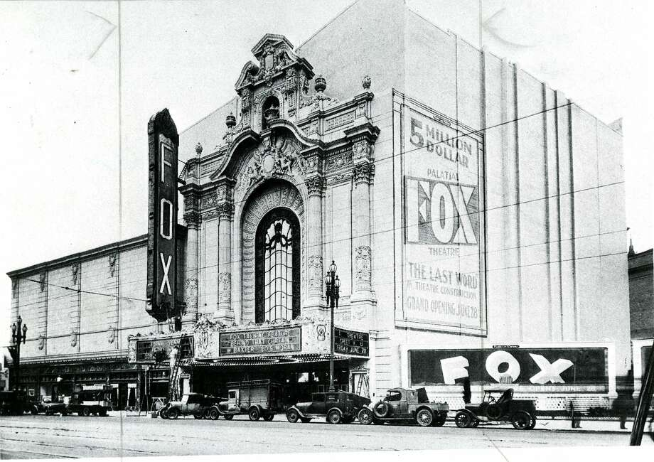 The Fox Theatre on Market Street before its grand opening. Photographer unknown. Photo: Chronicle File/photgrapher Unkno