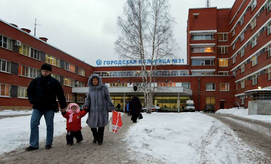 Russian officials on Wednesday backed off on a plan to shut a clinic that specializes in treating children with cancer at City Hospital 31 in order to turn it into a medical center for the nation's top judges. Photo: Dmitry Lovetsky, STF / AP