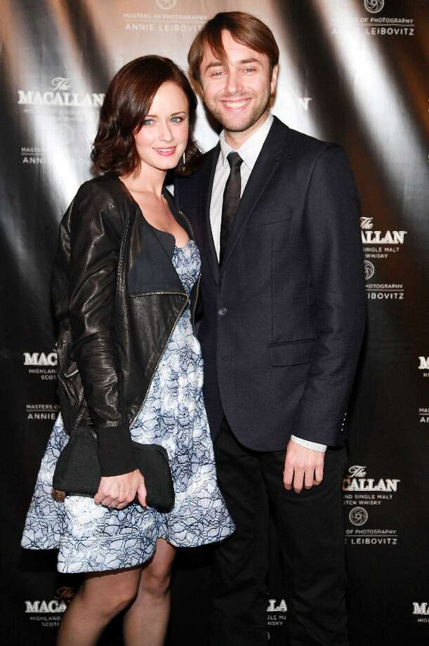 Vincent Kartheiser and 'Mad Men' co-star Alexis Bledel are a handsome, real-life couple. Photo: Astrid Stawiarz, Getty Images / 2012 Astrid Stawiarz