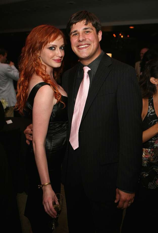 Here's a rewind to 'Mad Men' premiere's party in 2007, with Christina Hendricks and Rich Sommer. Photo: Chad Buchanan, Getty Images / 2007 Chad Buchanan