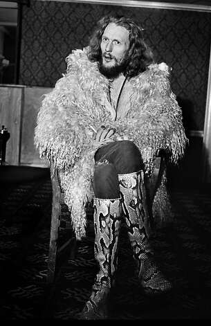 Famed drummer Ginger Baker, seen here in 1970, is the subject of a warts-and-all documentary. Photo: Mirrorpix