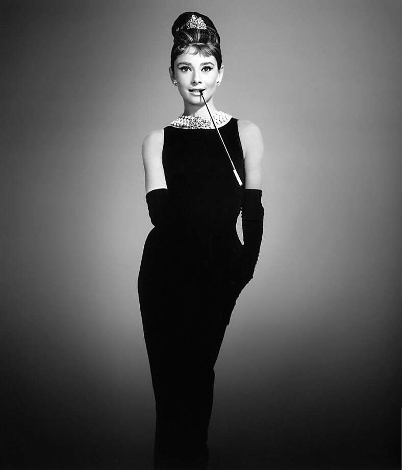 "Audrey Hepburn in ""Breakfast at Tiffany's"": a working girl. Photo: Paramount 1961"