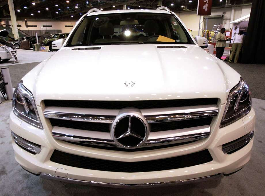 A Mercedes-Benz GL450 shown at the Houston Auto Show in Reliant Center, Tuesday, Jan. 22, 2013, in Houston.  The show runs from Jan. 23 through Jan. 27. Photo: Melissa Phillip, Houston Chronicle / © 2013 Houston Chronicle