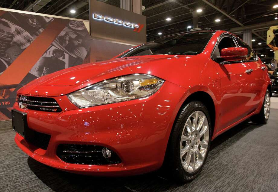 A Dodge Dart shown at the Houston Auto Show in Reliant Center, Tuesday, Jan. 22, 2013, in Houston.  The show runs from Jan. 23 through Jan. 27. Photo: Melissa Phillip, Houston Chronicle / © 2013 Houston Chronicle