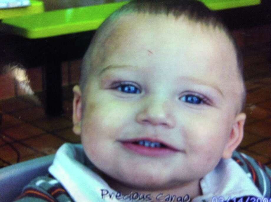 "One-year-old Cruz Combs, known to family as ""Ethan,"" died in June 2009. Johnnie Ray Byrkett, who was living with Ethan's mother in Windcrest and was the baby's caretaker, is on trial for injury to a child. Photo: Courtesy Photo"