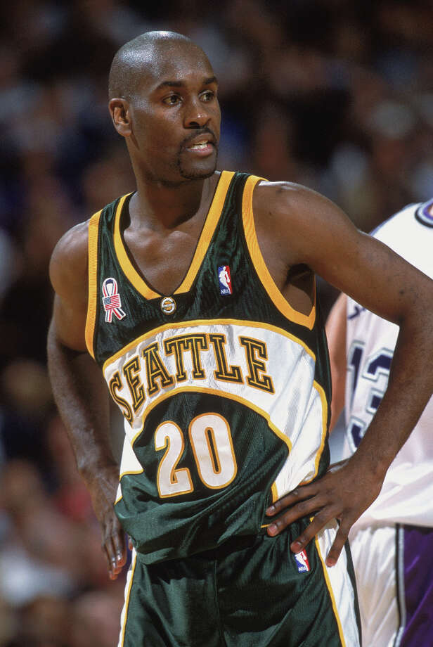Gary Payton, pictured on Oct. 30, 2001 in Sacramento, Calif. Photo: Tom Hauck, Getty Images / Getty Images North America