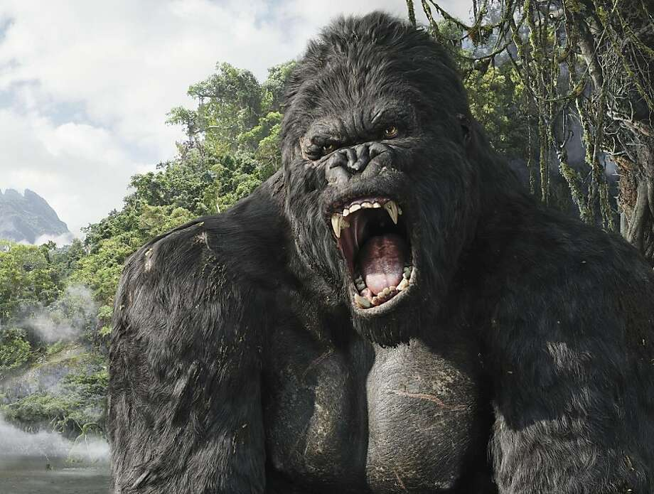 "Peter Jackson's ""King Kong"" remake provided the opportunity to use the wonderful, all-purpose phrase ""penises with teeth."" Photo: Ho,  Universal Studios"