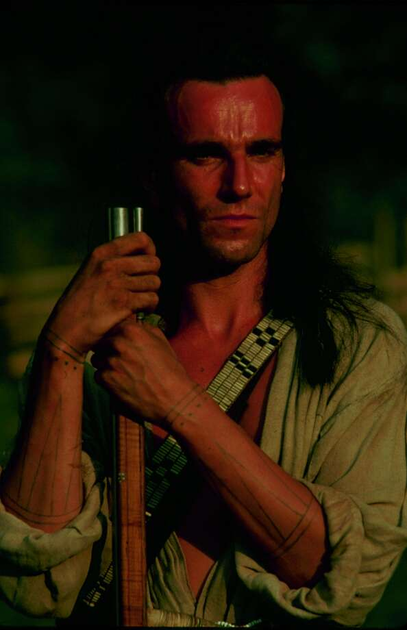 Daniel Day-Lewis in 'Last of the Mohicans' in 1992.  Photo: Time & Life Pictures, Time Life Pictures/Getty Images / Time & Life Pictures