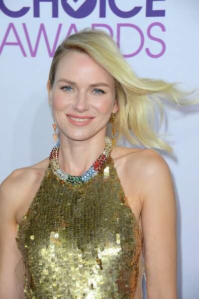 Naomi Watts in 2013, at the  People's Choice Awards in January. She's been nominated for an Oscar fo