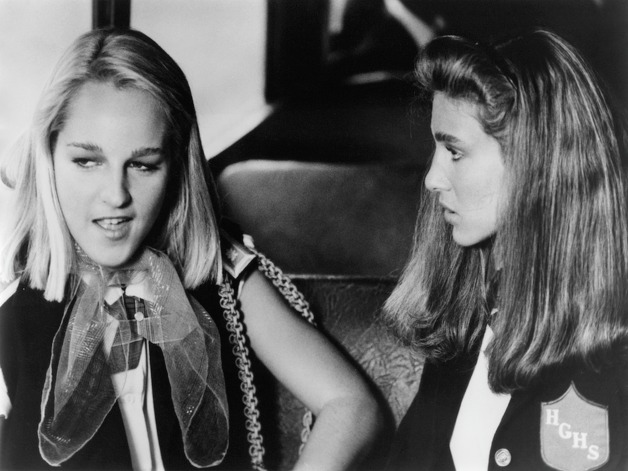 Helen Hunt (left) is a longtime actress who's been acting since the '80s. She starred in the 1985 movie 'Girls Just Want to Have Fun' with Sarah Jessica Parker, right. Photo: Michael Ochs Archives, Getty Images / 2011 Getty Images