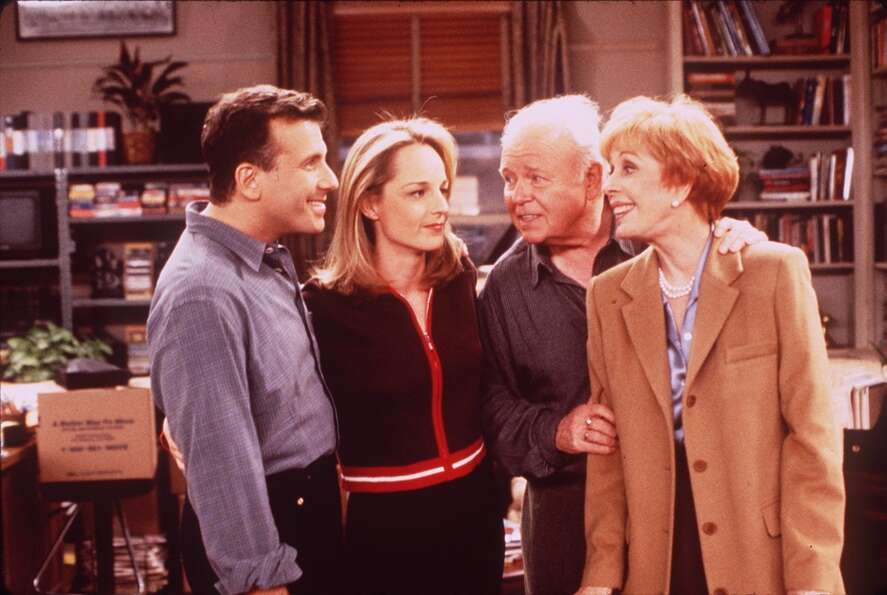 Helen Hunt is probably best known for her TV show 'Mad About You' in the '90s.