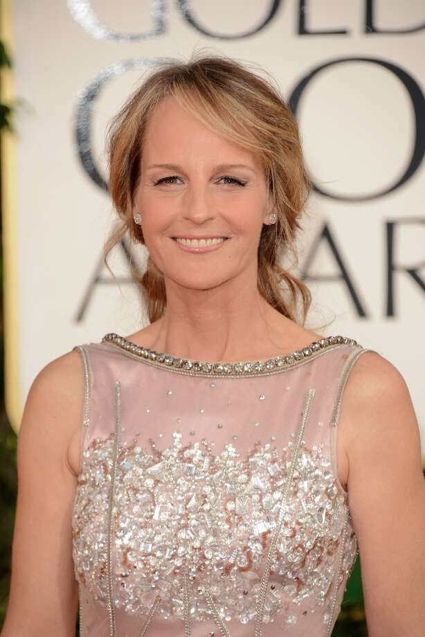 Helen Hunt in 2013, at the Golden Globe Awards in January. She's been nominated for an Oscar for 'The Sessions.'  Photo: Jason Merritt, Getty Images / 2013 Getty Images