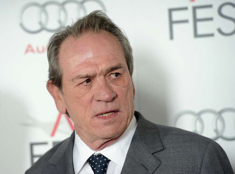 Tommy Lee Jones in 2012. He was nominated for 'Lincoln.'