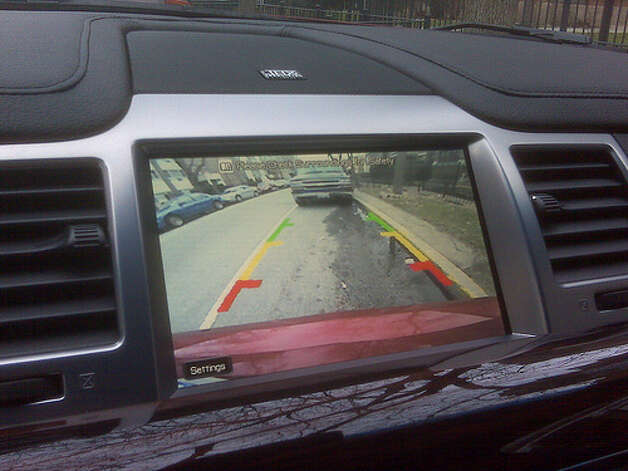 Rearview camera that senses danger: A few automakers are making more intelligent rearview camera systems. Infiniti developed a system that alerts drivers to potential dangers, such as telephone poles or oncoming cars. If the driver ignores verbal and visual warnings, the car will slow down to avoid a potential accident. (Photo: Leah Jones, Flickr)