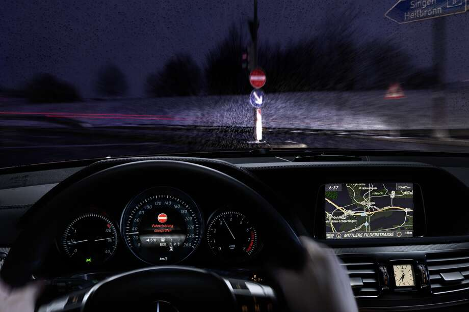 Fighting wrong-way driving: Mercedes-Benz introduced a system that can detect wrong-way signs and alert drivers to the dangers. The system hopes to prevent drivers from unintentionally driving on the wrong side of the road.Read more about new technologies in vehicles. Photo: Mercedes-Benz