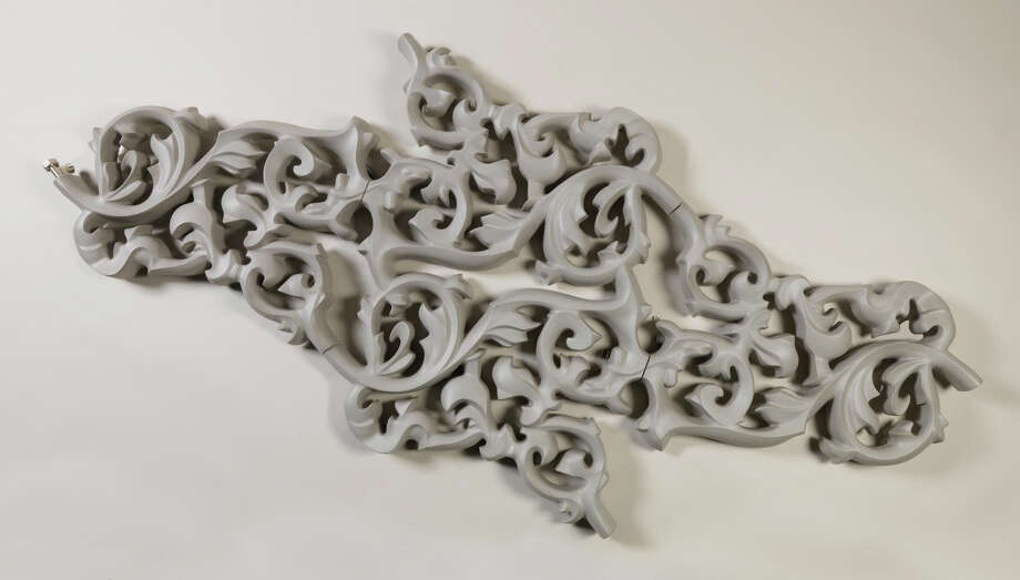"The wall-mounted ""Heatwave"" radiator, created in 2003 by Joris Laarman, borrows its scrollwork from rococo styling. Photo: Photos Courtesy Cooper-Hewitt National Design Museum / Cooper-Hewitt National Design Mu"