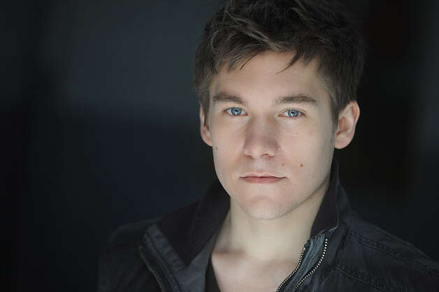 "Manchester native Bryan Welnicki is playing Lucas Beineke, the young man who hopes to marry into the Addams Family, in the new international tour of ""The Addams Family"" that is being launched at the Shubert Theatre in New Haven Feb. 1 to 3. Photo: Contributed Photo"